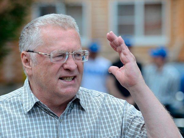 В Гидрометцентре ответили на критику промокшего Жириновского
