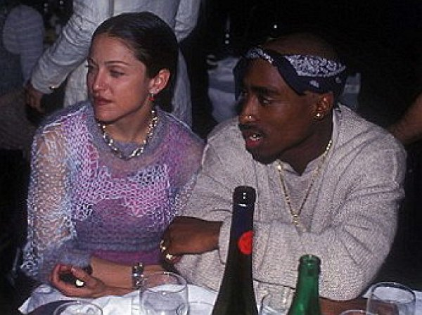 Стали известны причины расставания Мадонны с Тупаком Шакуром