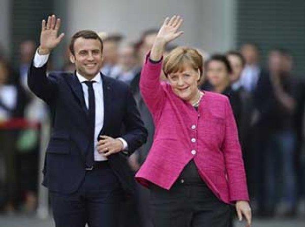 Меркель и Макрон потребовали немедленно прекратить огонь на Донбассе