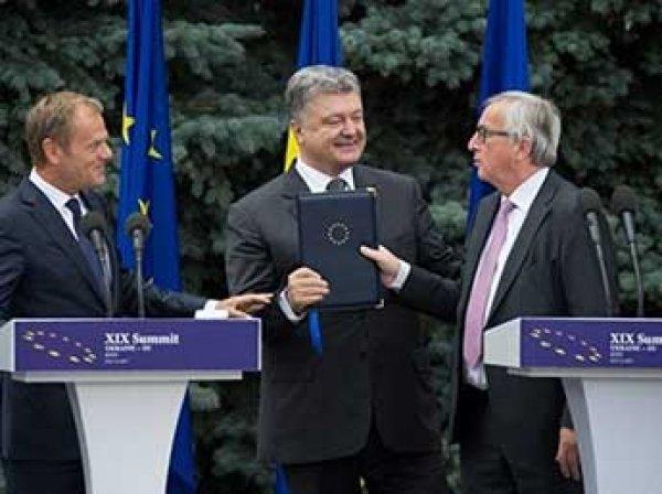 Саммит Украина-ЕС провалился: участники не смогли согласовать итоговое заявлением