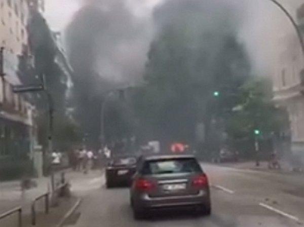 Захарова выложила в Сеть видео из Гамбурга с «дымящимся адом»
