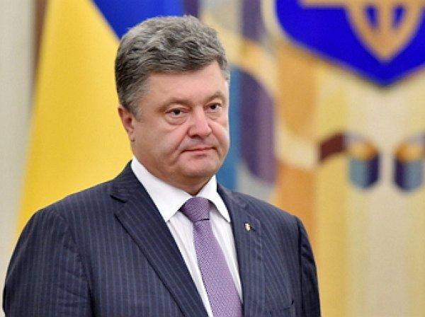 Порошенко предложили сделать Крым островом