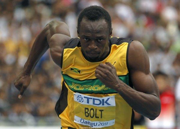 Усэйн Болт в последний забег 2017 впервые за 6 лет проиграл финал ЧМ на 100 метров (ВИДЕО)