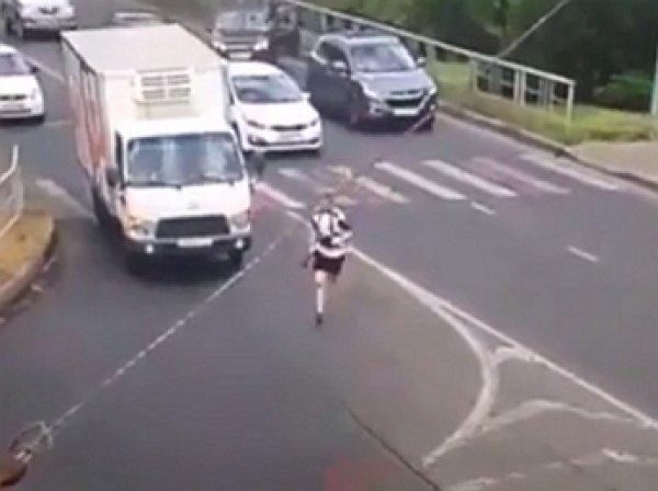 В Сети появилось видео с места нападения на пост ДПС в Краснодаре
