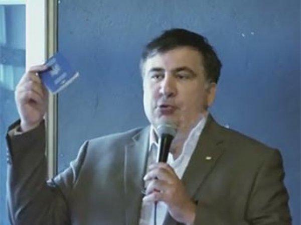 Саакашвили въехал в Польшу по недействительному украинскому паспорту