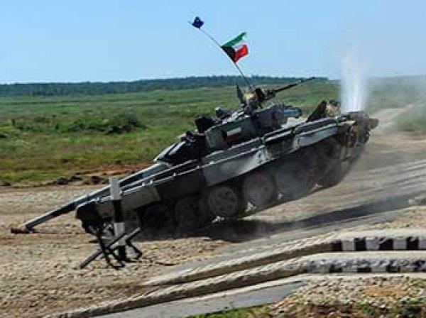 На танковом биатлоне танкисты из Кувейта воткнули Т-72 дулом в землю (ФОТО)