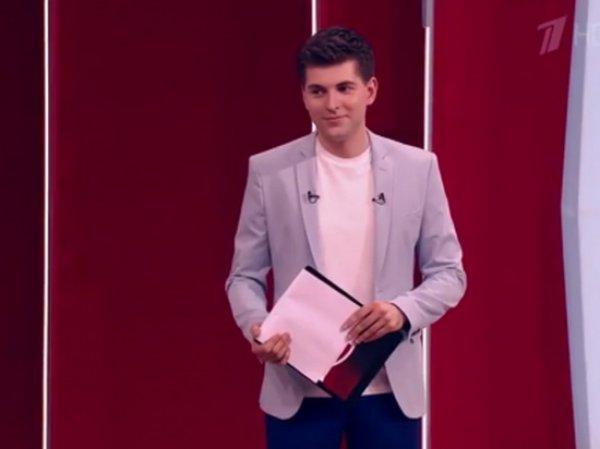"""Новый ведущий """"Пусть говорят"""" выгнал из студии украинского политолога под крики """"Позор!"""""""