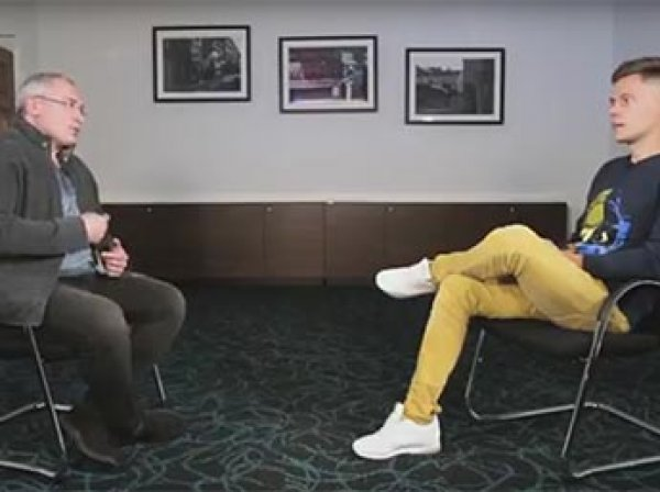 Ходорковский рассказал блогеру Дудю, что делать, если Навальный станет президентом (ВИДЕО)