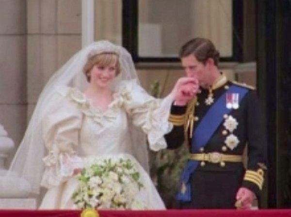 В Сети появилось архивное свадебное видео принцессы Дианы и принца Чарльза