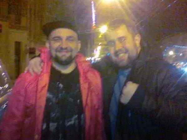 Баста опубликовал совместное ФОТО с избившим журналиста НТВ лжедесантником