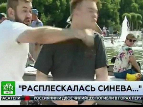 Напавшего на журналиста НТВ лжедесантника приговорили к пяти суткам ареста
