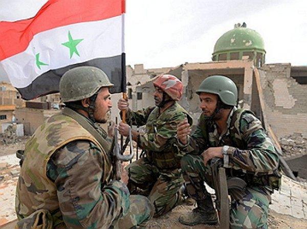 Сирийские войска взяли штурмом лагерь украинских боевиков ИГИЛ