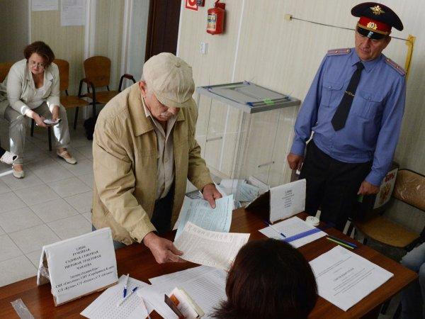 Выборы 10 сентября 2017 года в Москве начались со скандала