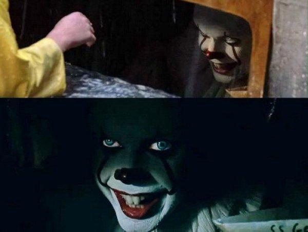 """""""Пеннивайз, которого я заслужила"""": Сеть захлестнула волна мемов с клоуном из """"Оно"""""""