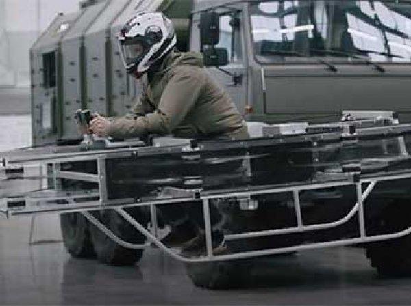 """""""Калашников"""" показал ВИДЕО испытаний первого в России летающего мотоцикла"""