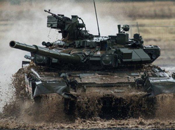 СМИ: на учениях в Белоруссии российские военные утопили танк