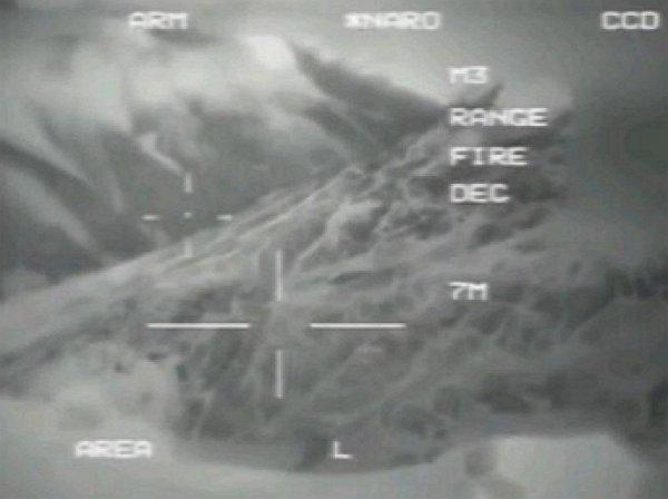 На YouTube появилось видео боя военного дрона США с НЛО