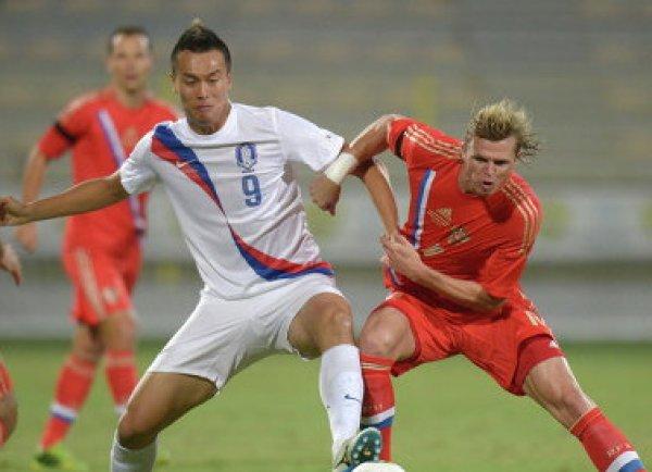 Россия - Южная Корея: счет 4:2, обзор матча от 07.10.2017, видео голов, результат матча (ВИДЕО)