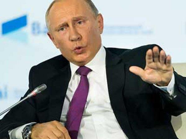 Путин прокомментировал шансы на победу женщины на выборах 2018