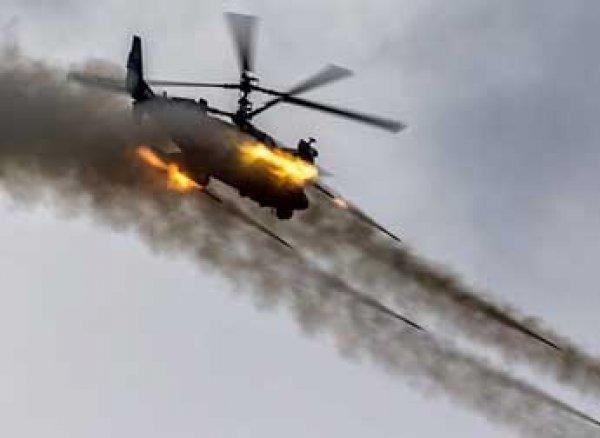 """ЧП на учениях """"Запад-2017"""": вертолет Ка-52 выстрелил не только в зрителей, но и по складу"""