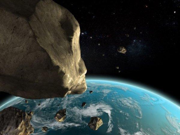 Астероид 12 октября 2017 пролетел мимо Земли