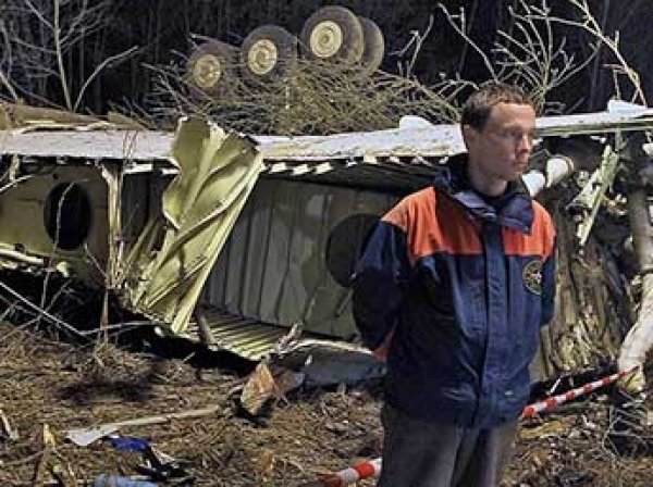 Польша обнаружила запись взрыва на самописце разбившегося под Смоленском Ту-154 Качиньского