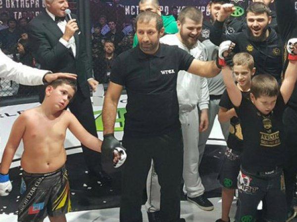 """В эфире """"Матч ТВ"""" показали бои детей Кадырова"""