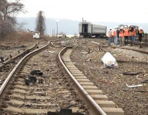 Водитель автобуса рассказал о столкновении с поездом