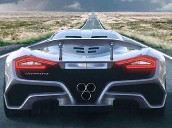 В Сеть попало тизер-видео самого быстрого гиперкара в мире