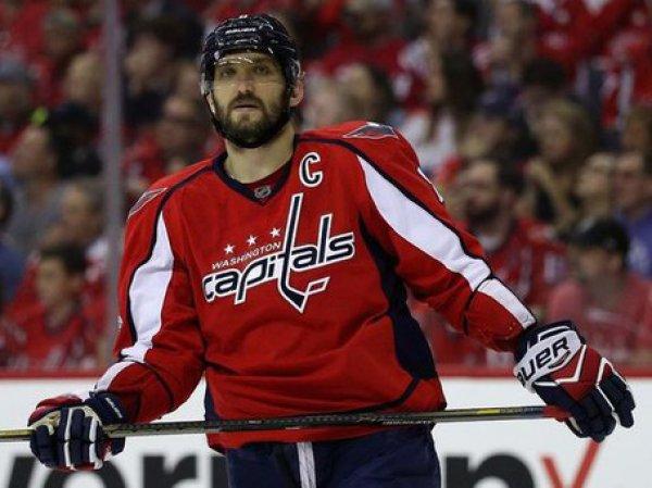 Овечкин забросил три шайбы за шесть минут в матче НХЛ