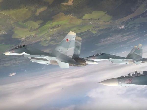 Минобороны показало видео с возможностями современного Су-30СМ