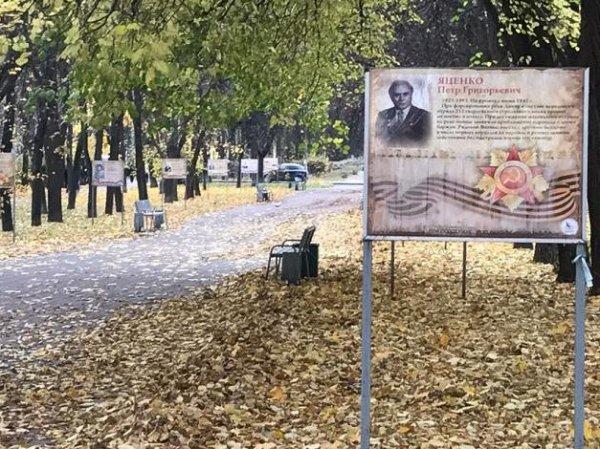 Мигранты разгромили аллею героев на Измайловском бульваре в Москве