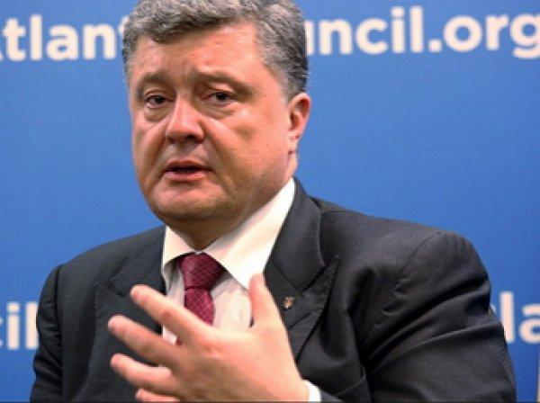 СМИ: СБУ предотвратила покушение на Петра Порошенко