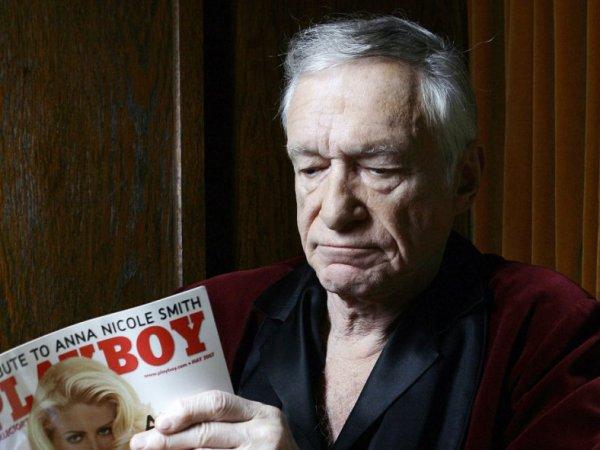Названа официальная причина смерти основателя журнала Playboy Хью Хефнера