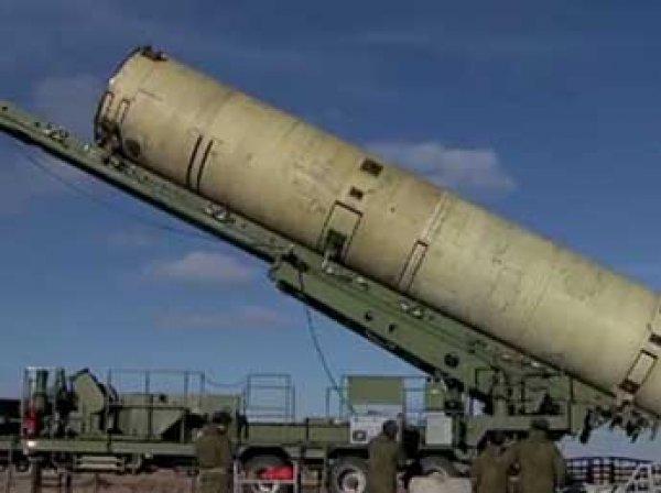 Минобороны показало видео испытания новой российской ракеты ПРО