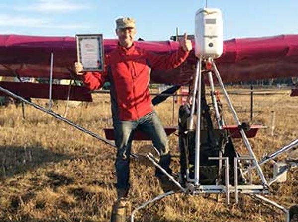 Пилот из Читы попал в Книгу рекордов Гиннесса за сотню витков в штопоре