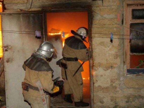 В Томской области мужчина сжег жену и троих детей