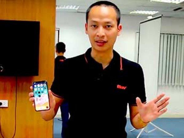 Вьетнамцы показали видео с новым способом взлома iPhone X