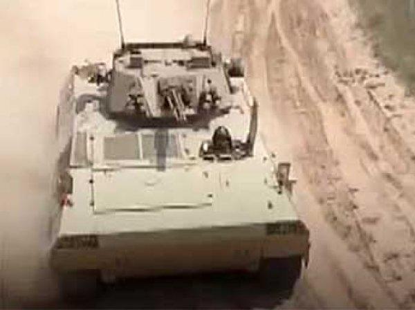 """В Китае испытали """"самый быстрый"""" танк-амфибию"""