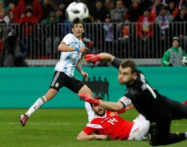 Россия - Аргентина: счет 0:1, обзор матча 11.11.2017, видео голов, результат (ВИДЕО)