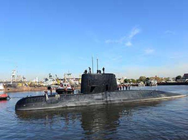 Военные Аргентины сообщили о взрыве в месте исчезновения боевой подлодки
