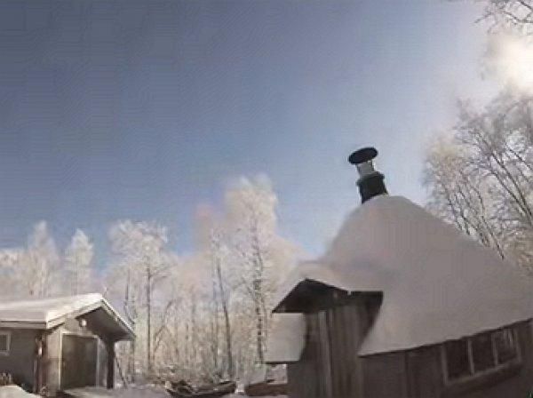 В Финляндии засняли на видео «сияние сотни лун»