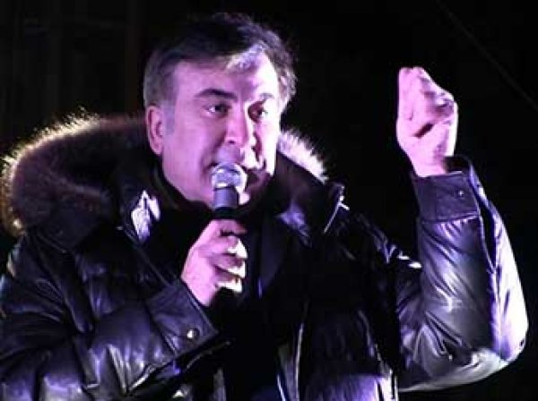 """Саакашвили собирает в Киеве """"марш миллионов"""""""