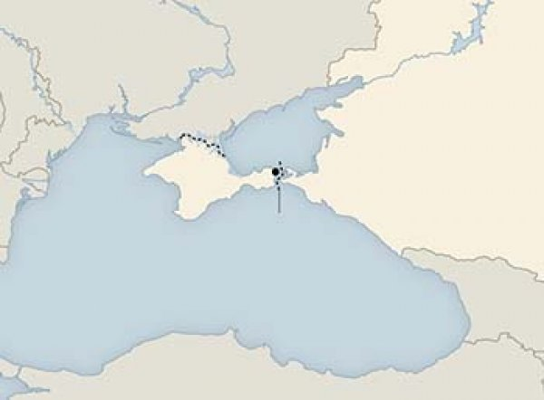 New York Times отказалась менять статус Крыма на карте в ответ на гнев Украины