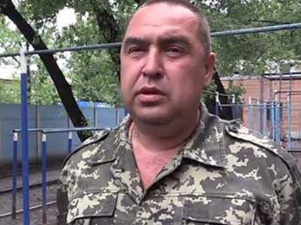 СМИ: глава ЛНР Плотницкий бежал из Луганска в Россию