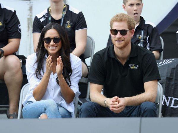Британский принц Гарри обручился с американской актрисой