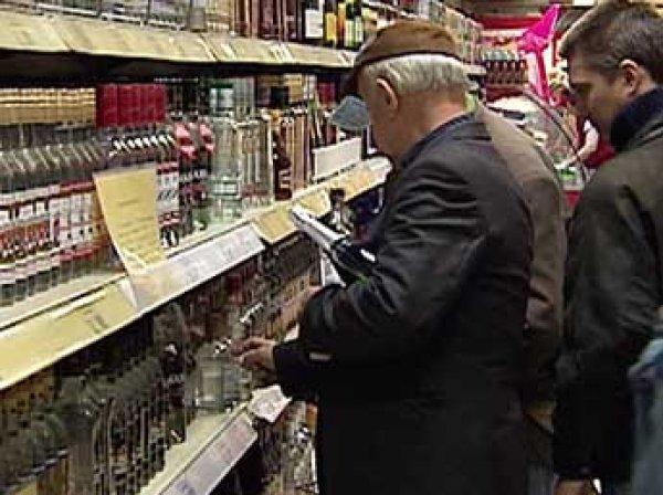 В России могут ввести запрет на продажу алкоголя пьяным покупателям