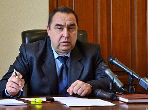 Глава ЛНР Плотницкий подал в отставку