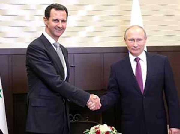 Путин объявил о завершении военной операции в Сирии