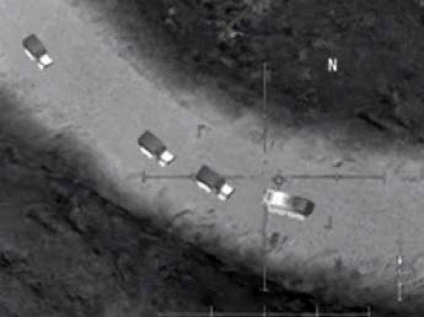 Минобороны РФ обвинило США в поддержке боевиков ИГИЛ в Сирии
